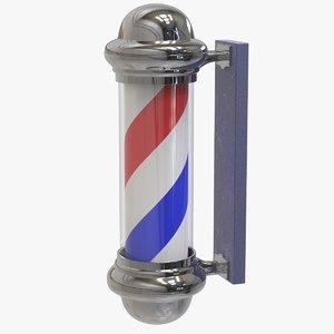 barber s pole 3D model