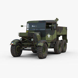 ww2 scammell pioneer recovery 3D model