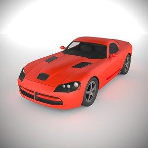 3D polycar n69 lp1 cars model