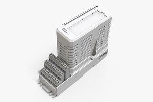 abb ao810v2 tu810v1 3D model