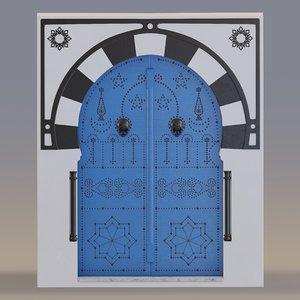 door designed 3D model
