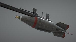jp rocket type3 mk28 3D model