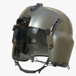 pbr helmet pilot 3D
