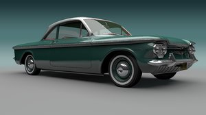 chevrolet corvair 3D model