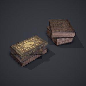3D books cover
