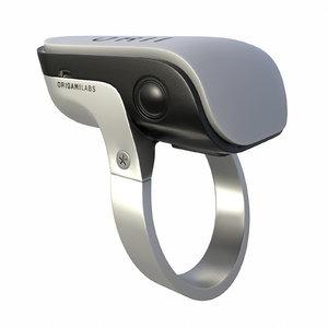 3D ring calls voice