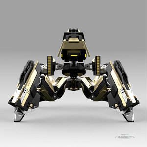 robot quadbot 3D
