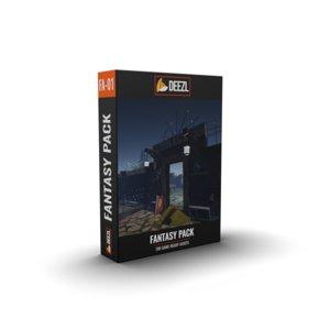 3D build walls fantasy pack