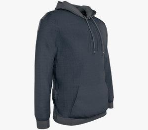 hoodie hood 3D