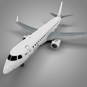 pegas fly embraer190 l624 3D