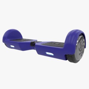 gyro scooter hoverboard 3D model