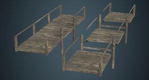 3D plank bridge 2b