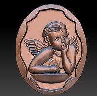 Angel Pendant 3D print model