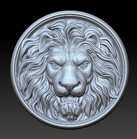Lion Head  Medallion 3D print