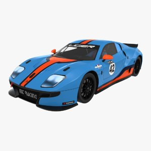 3D model ligier js2 r mt