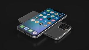concept apple phone 12 3D model