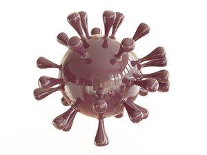 3D model coronavirus covid-19
