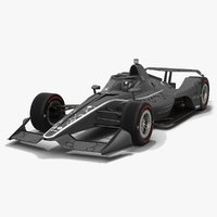 Dallara DW12 Aeroscreen 2020 Speedway Race Car