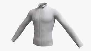 3D cloth male formal tuxedo model