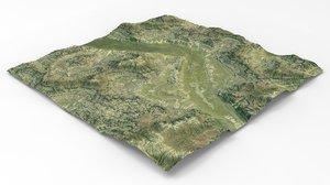 3D games maps terrain