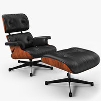 Eames Vitra Lounge Chair 1956 V2
