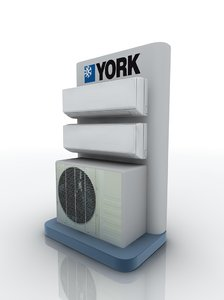 air conditioning 3D