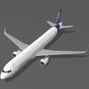 3D sharkleted airbus a321neo house