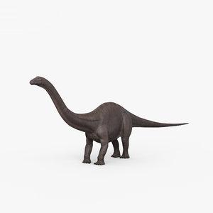 brontosaurus dinosaurs animal 3D