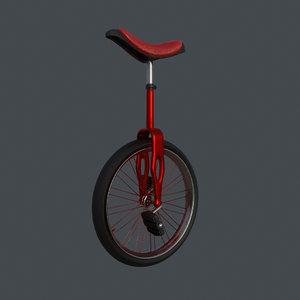 3D unicycle vehicle model