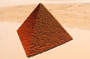 3D egypt pyramid model