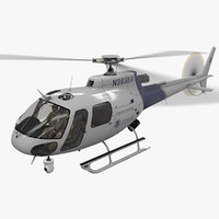 AS-350 US Customs And Border Protection Animated