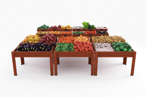 vegetable counter 3D