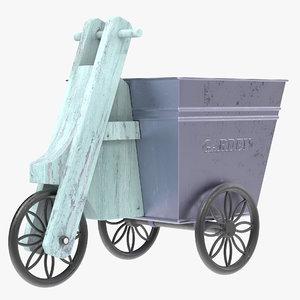 3D garden cart