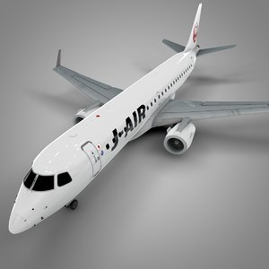 3D model j-air embraer190 l626
