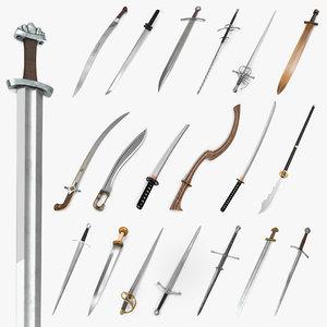 swords 2 3D model