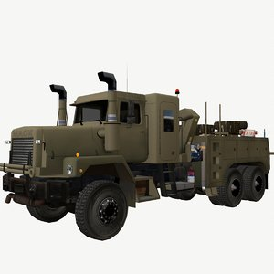 3D army truck