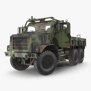 3D oshkosh mtvr mk23 dusty