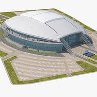 Stadium with Parking