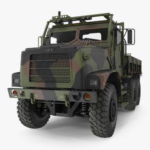 3D model oshkosh mtvr mk23 6x6