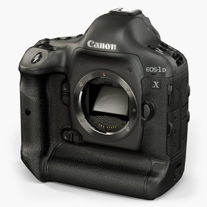 3D canon eos-1d x model