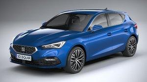 seat leon 2020 3D model