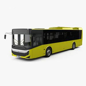 3D bmc procity bus