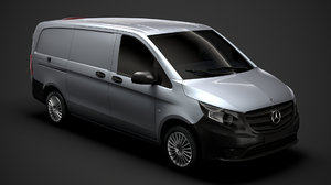 mercedes benz vito panel 3D
