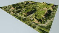Map002 - lowland in Bkender