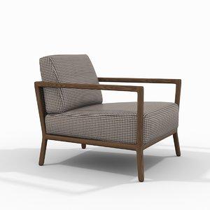 3D nube italia carlton armchair