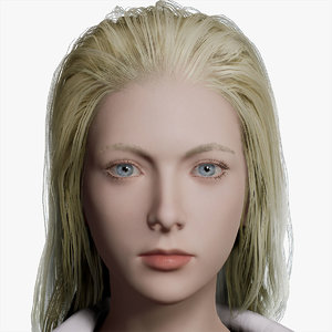 3D model female character