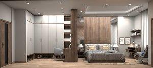 modern bedroom furniture bed model