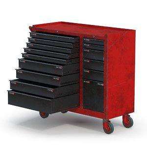 3D toolbox pbr model