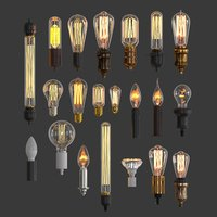 Lamps collection set-1