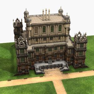 3D model bruce waynes residence